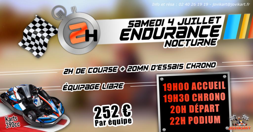 Endurance 2H - Suspendue provisoirment