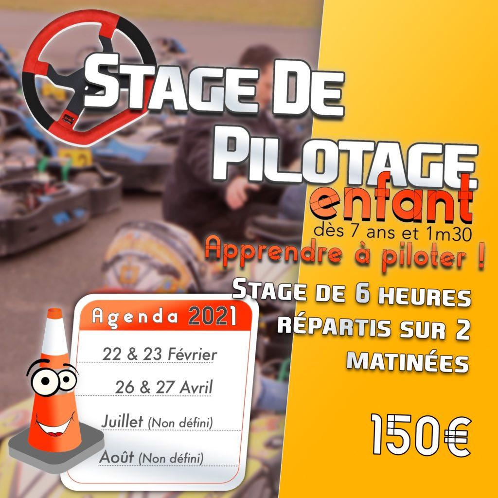 Stage de Pilotage Enfant
