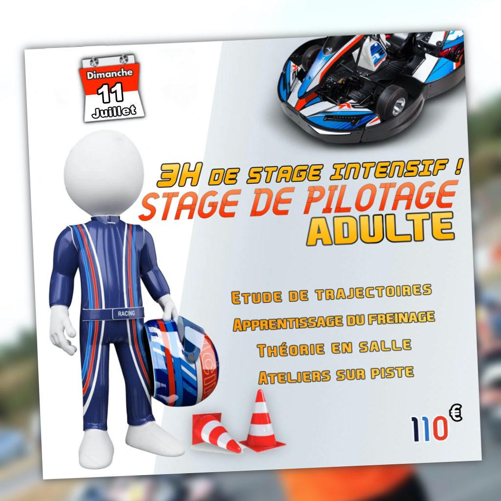 Stage de pilotage Adulte